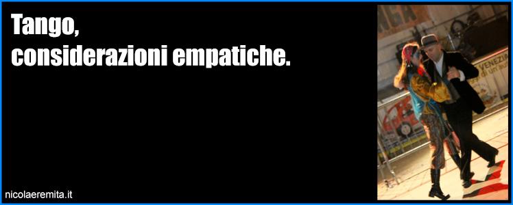 tango considerazioni empatiche