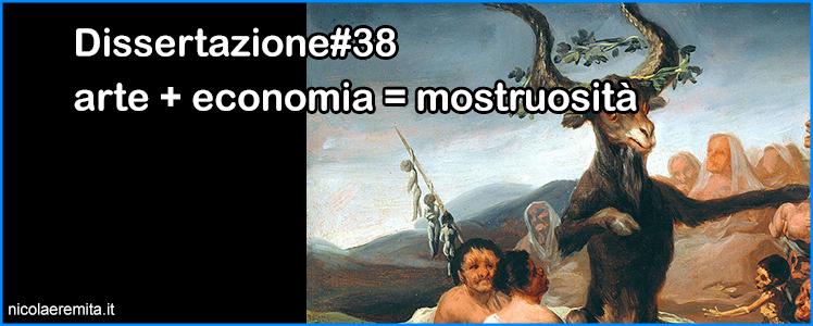 arte economia mostruosità