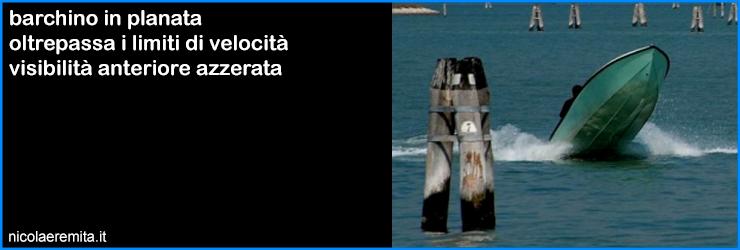 padroni laguna venezia barchino planante