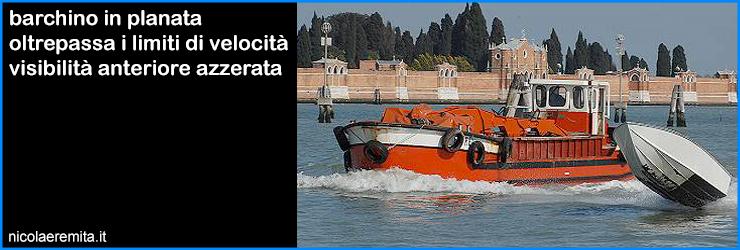 padroni laguna venezia barchino planata