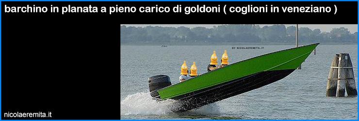 padroni laguna venezia goldoni barchini planata