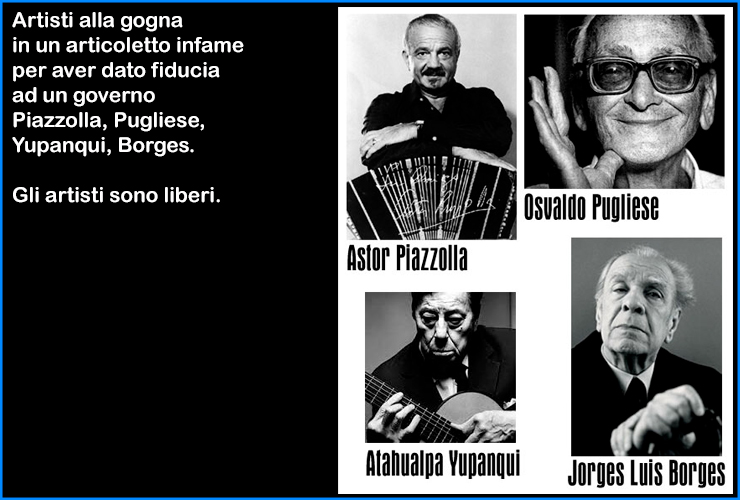 piazzolla pugliese yupanqui borges