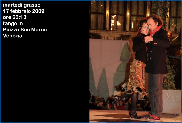 tango a venezia in piazza san marco 2009