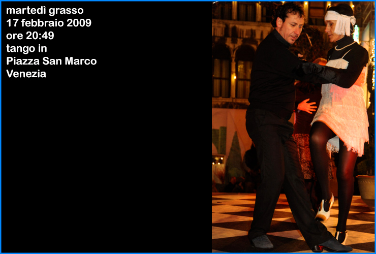 tango a venezia piazza san marco 2009